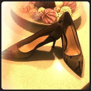 Stiletto leather upper shoes Banana Republic.